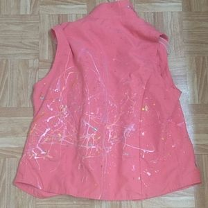 Hot-pink woman's jacket
